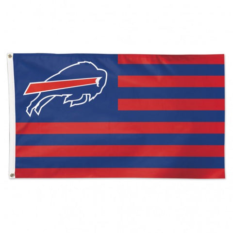 Buffalo Bills Flag 3x5 Deluxe Americana Design