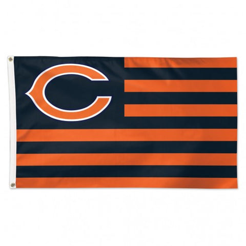 Chicago Bears Flag 3x5 Deluxe Americana Design