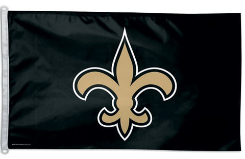 New Orleans Saints Flag 3x5 Logo