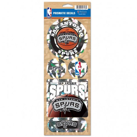 San Antonio Spurs Stickers Prismatic