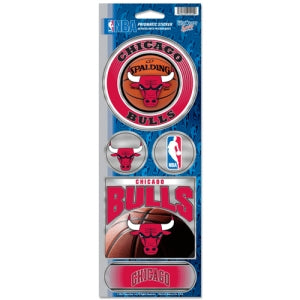 Chicago Bulls Stickers Prismatic