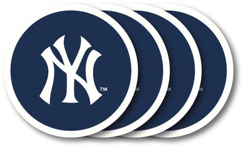 NEW YORK YANKEES COASTER SET 4-PK.