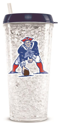 NEW ENGLAND PATRIOTS THROWBACK CRYSTAL FREEZER TUMBLER