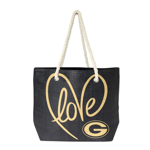 Green Bay Packers Rope Tote (Metallic G)