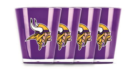 MINNESOTA VIKINGS INSULATED SHOT GLASS - 4PC/SET