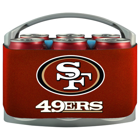 San Francisco 49Ers Cooler With Neoprene Sleeve And Freezer Component