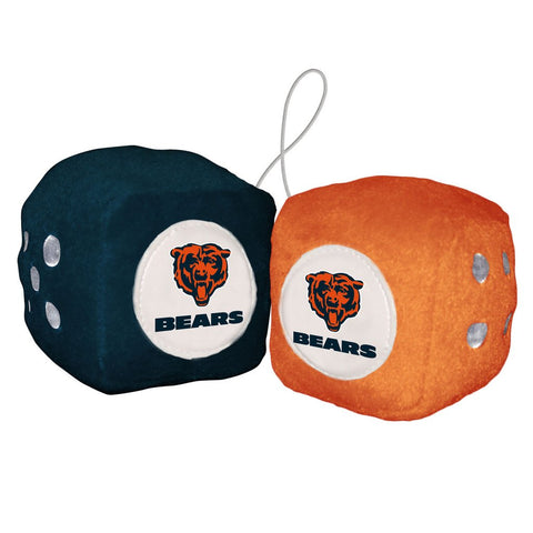 NFL Chicago Bears Fuzzy Dice
