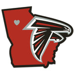 Atlanta Falcons Decal Home State Pride Style