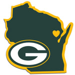 Green Bay Packers Decal Home State Pride