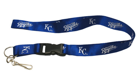 Kansas City Royals Lanyard - Breakaway with Key Ring