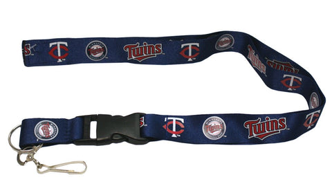 Minnesota Twins Lanyard - Breakaway with Key Ring
