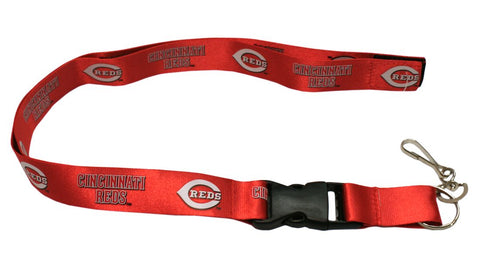 Cincinnati Reds Lanyard - Breakaway with Key Ring