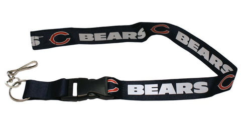 Chicago Bears Lanyard - Breakaway with Key Ring