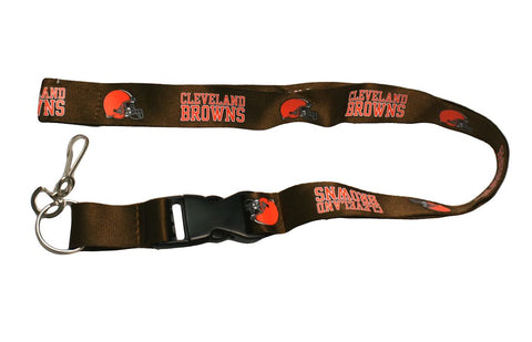 Cleveland Browns Lanyard - Breakaway with Key Ring