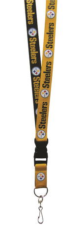 Pittsburgh Steelers Lanyard Two Tone Style