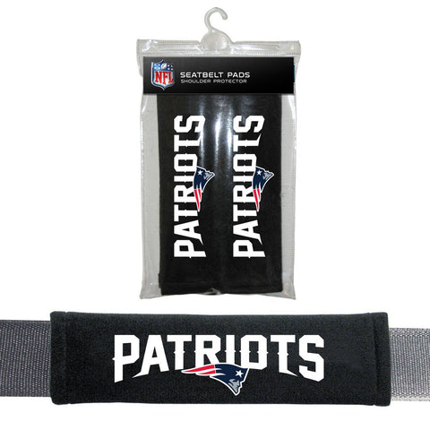 NFL New England Patriots Seat Belt Pads