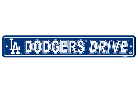 MLB Los Angeles Dodgers Drive Street Sign