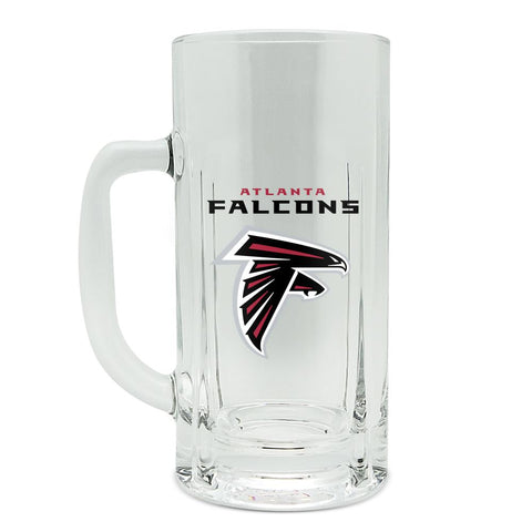 ALTANTA FALCON GLASS HEAVY DUTY KRAFT MUG - 20 oz