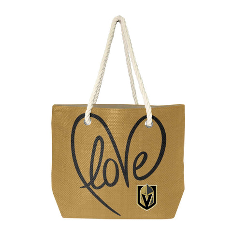 Vegas Golden Knights Rope Tote (Natr Blck)