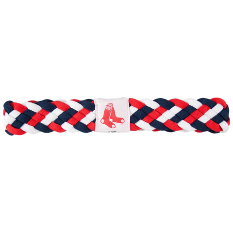 Boston Red Sox Braided Head Band 6 Braid