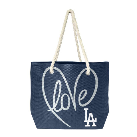 Los Angeles Dodgers Rope Tote (Navy Slvr)