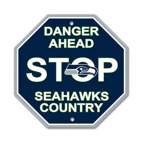 NFL Seattle Seahawks Stop Sign