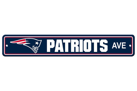 NFL New England Patriots Street Sign
