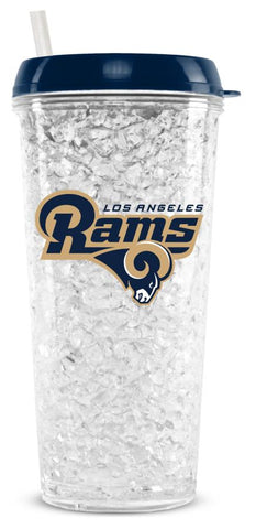LOS ANGELES RAMS CRYSTAL FREEZER TUMBLER