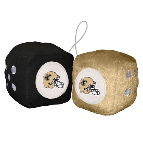 NFL New Orleans Saints Fuzzy Dice