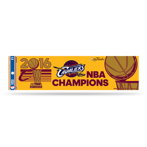Cleveland Cavaliers Decal Bumper Sticker 2016 Champions