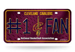 Cleveland Cavaliers License Plate #1 Fan C Logo