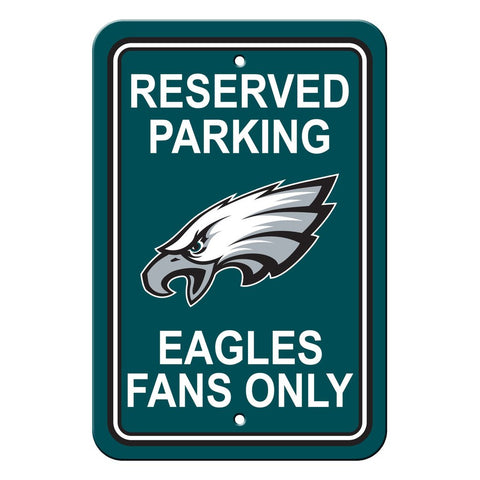 NFL Philadelphia Eagles Reserved Parking Sign