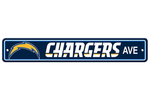 NFL Los Angeles Chargers Street Sign