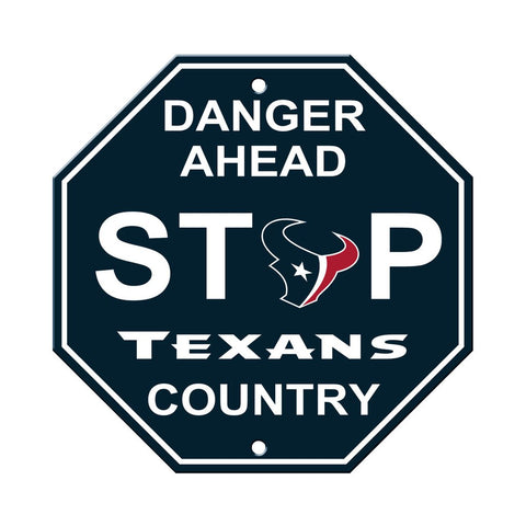NFL Houston Texans Stop Sign