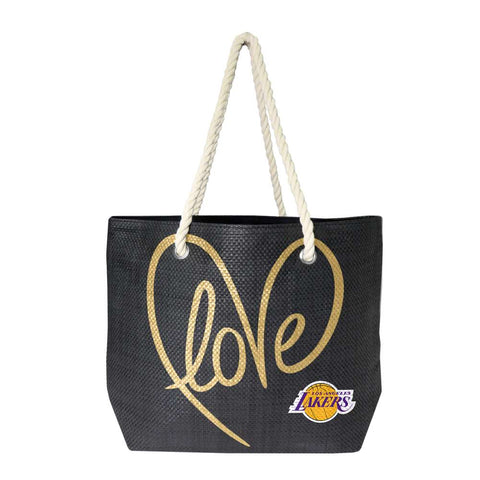 Los Angeles Lakers Rope Tote (Black Gold)