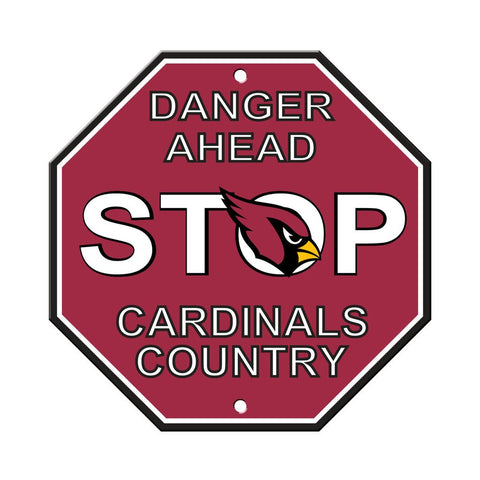 NFL Arizona Cardinals Stop Sign