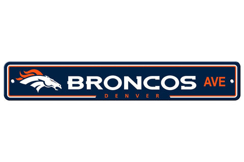 NFL Denver Broncos Street Sign