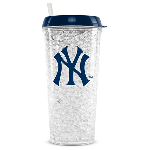 NEW YORK YANKEES CRYSTAL FREEZER TUMBLER