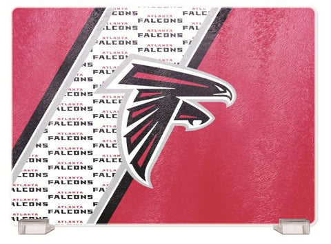 ATLANTA FALCONS TEMPERED GLASS CUTTING BOARD