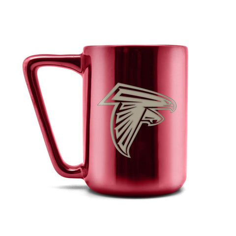 ATLANTA FALCONS CERAMIC MUG W LASER ENGRAVED LOGO 16 OZ.