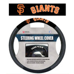 MLB San Francisco Giants Poly-Suede Steering Wheel Cover