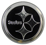 Pittsburgh Steelers Auto Emblem - Silver