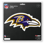 Baltimore Ravens Decal 8x8 Die Cut