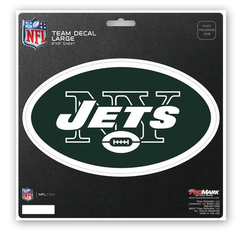 New York Jets Decal 8x8 Die Cut