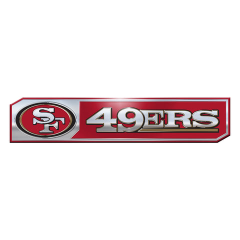 San Francisco 49ers Auto Emblem Truck Edition 2 Pack