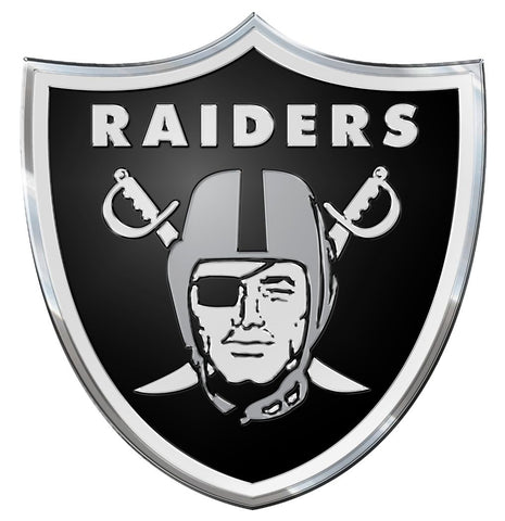 Oakland Raiders Auto Emblem - Color