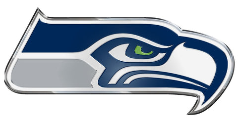 Seattle Seahawks Auto Emblem - Color
