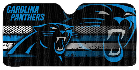 "Carolina Panthers Auto Sun Shade - 59""x27"""
