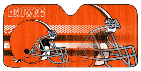 "Cleveland Browns Auto Sun Shade - 59""x27"""