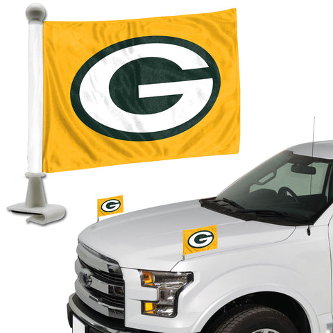 Green Bay Packers Flag Set 2 Piece Ambassador Style